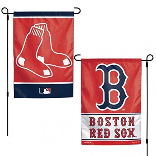 Stockdale Boston Red Sox WC GARDEN FLAG Premium 2-sided Banner Outdoor House Baseball ()