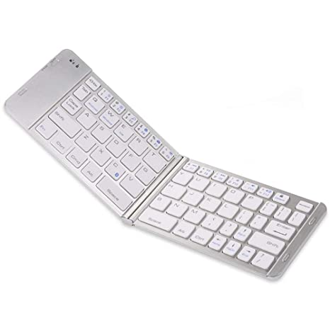 Universal Bluetooth Keyboard Wireless Rechargeable Compatible Apple iPhone  Xs Max/Xs/Xr/X/8 Plus/7 plus/6s plus/i8/Samsung/ipad iOS Android Portable