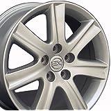 17x7 Wheel Fits Lexus, Toyota - ES 350 Style Silver Rim, Hollander 74190