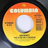 Journey 45 RPM The Eyes Of A Woman / I'll Be Alright Without You (Hot Mix)