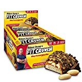 FITCRUNCH Snack Size Protein Bars | Designed by Robert Irvine | World's Only 6-Layer Baked Bar | Just 3g of Sugar & Soft Cake Core (9 Snack Size Bars)