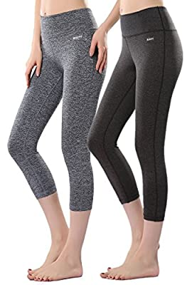 Mirity Women's Tight Yoga Pants Spandex Workout Gym Activewear Capris Yogapants