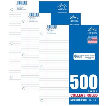 500 Sheet Notebook - 2
