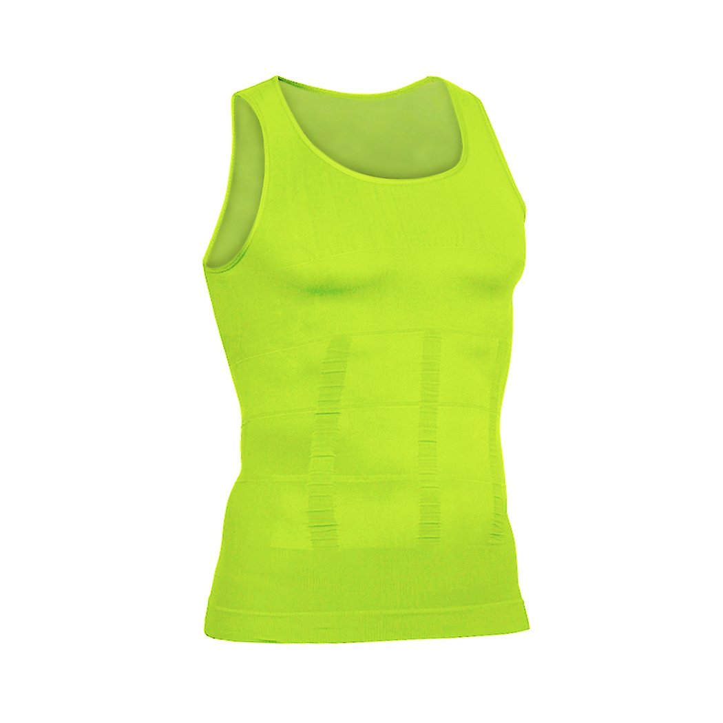 7 Colors to Choose Hoter Mens Slimming Body Shaper Vest Shirt Abs Abdomen Slim