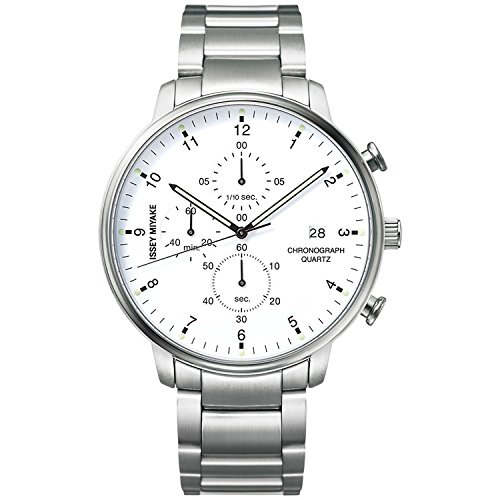 ISSEY MIYAKE watch Men's C Sea Ichiro Iwasaki design chronograph NYAD002
