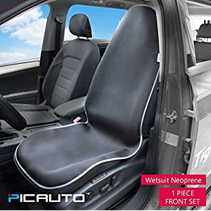 PIC AUTO Waterproof Car Seat Cover for CrossFit, Yoga, Running, Beach, Gym, Fitness, Athletes