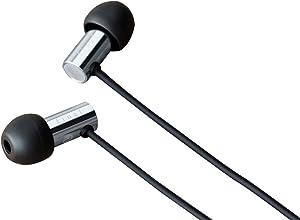 Final Audio Design High Resolution Headphone - Stainless Steel (E3000) Black