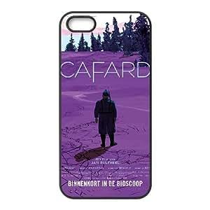 Alta resolución Cafard cartel iPhone 5 5S caja del teléfono celular funda Negro caja del teléfono celular Funda Cubierta EEECBCAAH78746