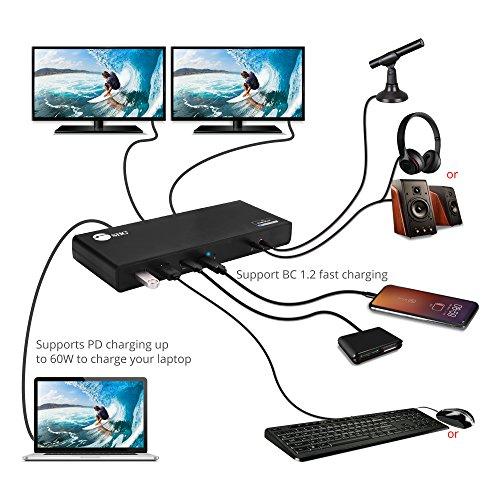 쇼핑365 해외구매대행   SIIG USB Type C Dual 4K Docking