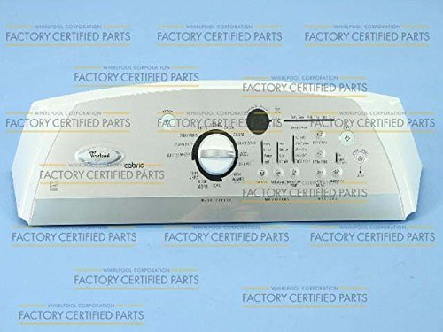 Console Washer Clothes (Whirlpool WPW10200838 Washer Parts Console)