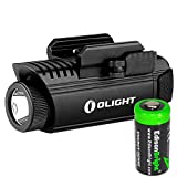 EdisonBright Olight PL1 II Valkyrie 450 lumen LED pistol light with CR123A lithium battery bundle For Sale