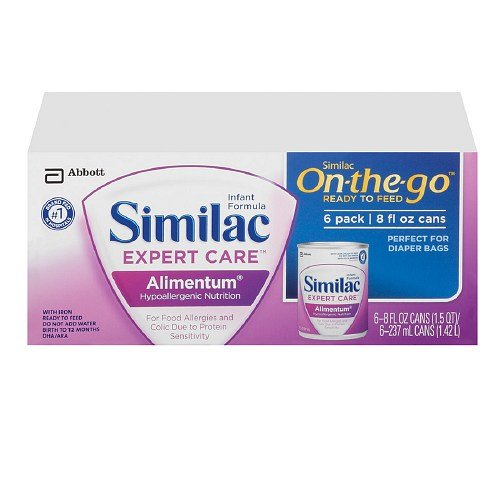 Similac Expert Care Alimentum Ready to Feed, 8 fl oz cans...