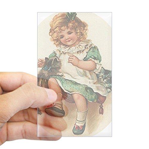 Irish Girl Sticker Bumper - 3