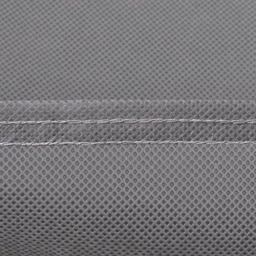 SHENGFENG Housse de Voiture Non-Tissée taille-533 x 178 x 119cm(XL),90 g/m² Gris