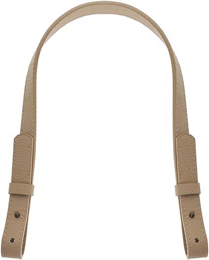 21-23 Long 3//4 Wide-Brown 2PCS TOPTIE Adjustable Shoulder Bag Strap PU Leather Replacement Purse Straps