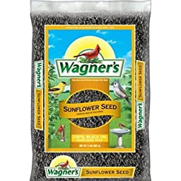 Wagner\'s 52021 Oil Sunflower Seed, 2-Pound Bag