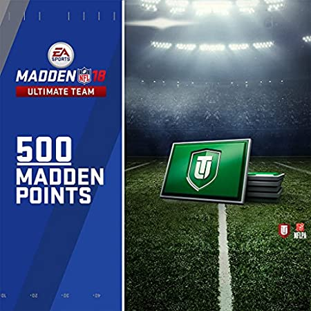 Madden NFL 18: 500 MUT Points - PS4 [Digital Code]