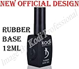 #5: Kodi Professional Rubber Base 12 ml. 0.42 oz UV Led Gel Nail Polish Coat New Official Design