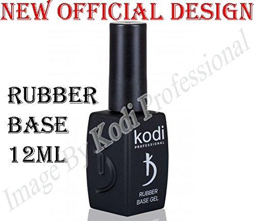 Kodi Professional Rubber Base 12 ml. 0.42 oz UV Led Gel Nail Polish Coat New Official Design