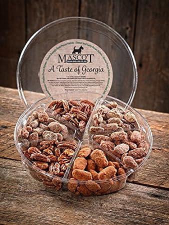 Mascot Pecans & Nut Gifts Since 1955- A Taste of Georgia Pecans Gourmet Gift Basket