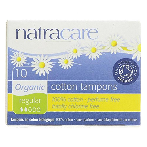 Natracare Regular Tampons - 4 Boxes (40 Total)