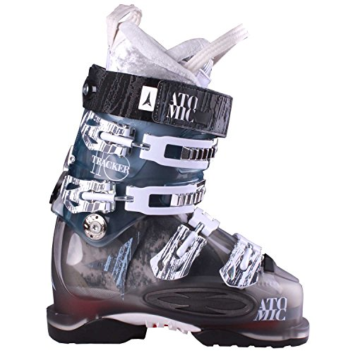 (Atomic Tracker 110 Women's Ski Boots Smoke/Light Blue 25.5)