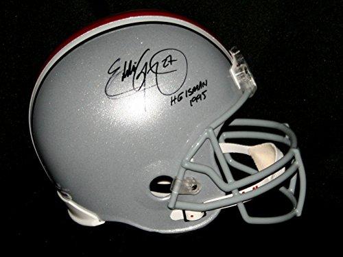 EDDIE GEORGE Signed Heisman 1995 OHIO STATE BUCKEYES Full Size (1995 Authentic Throwback Helmet)