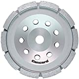 Concord Blades GCS040FCP 4 Inch Single Row Diamond Cup Wheel with 5/8-11 Thread
