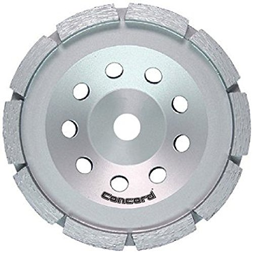 Concord Blades GCS070FCP 7 Inch Single Row Diamond Cup Wheel with 5/8''-11  Thread by Concord Blades
