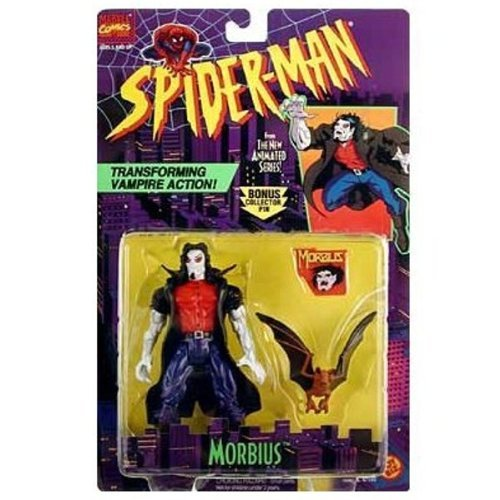 el mejor servicio post-venta SPIDER-MAN ANIMATED SERIES MORBIUS WITH WITH WITH TRANSFORMING VAMPIRE Acción by Spider-Man  70% de descuento