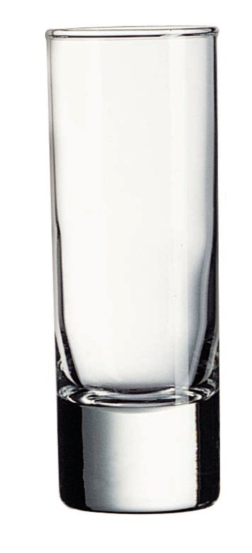 Luminarc Cool Shots 6-Piece Islande Shot Glass, 2-Ounce