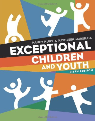 human exceptionalities Human exceptionality is an excellent resource for preparing teacher  the  book's unique human approach combines the most current.