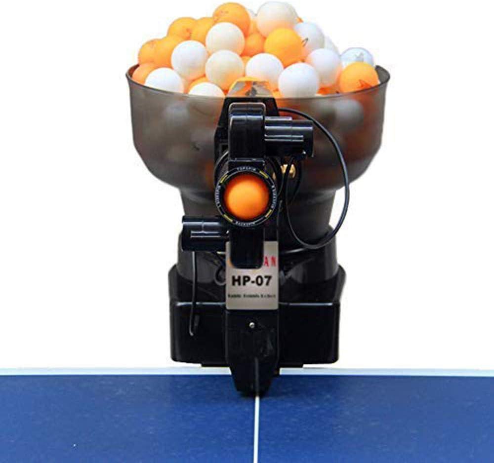 CHENGL Lanzador automático de Pelotas de Tenis de Mesa Robot de Tenis de Mesa Máquina automática de Tenis de Mesa con 36 Diferentes Bolas giratorias para Entrenamiento