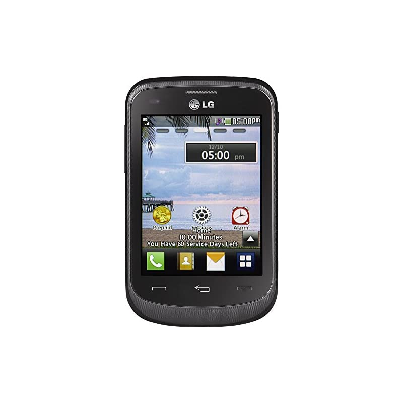 TracFone LG 306G No Contract Phone - Bla
