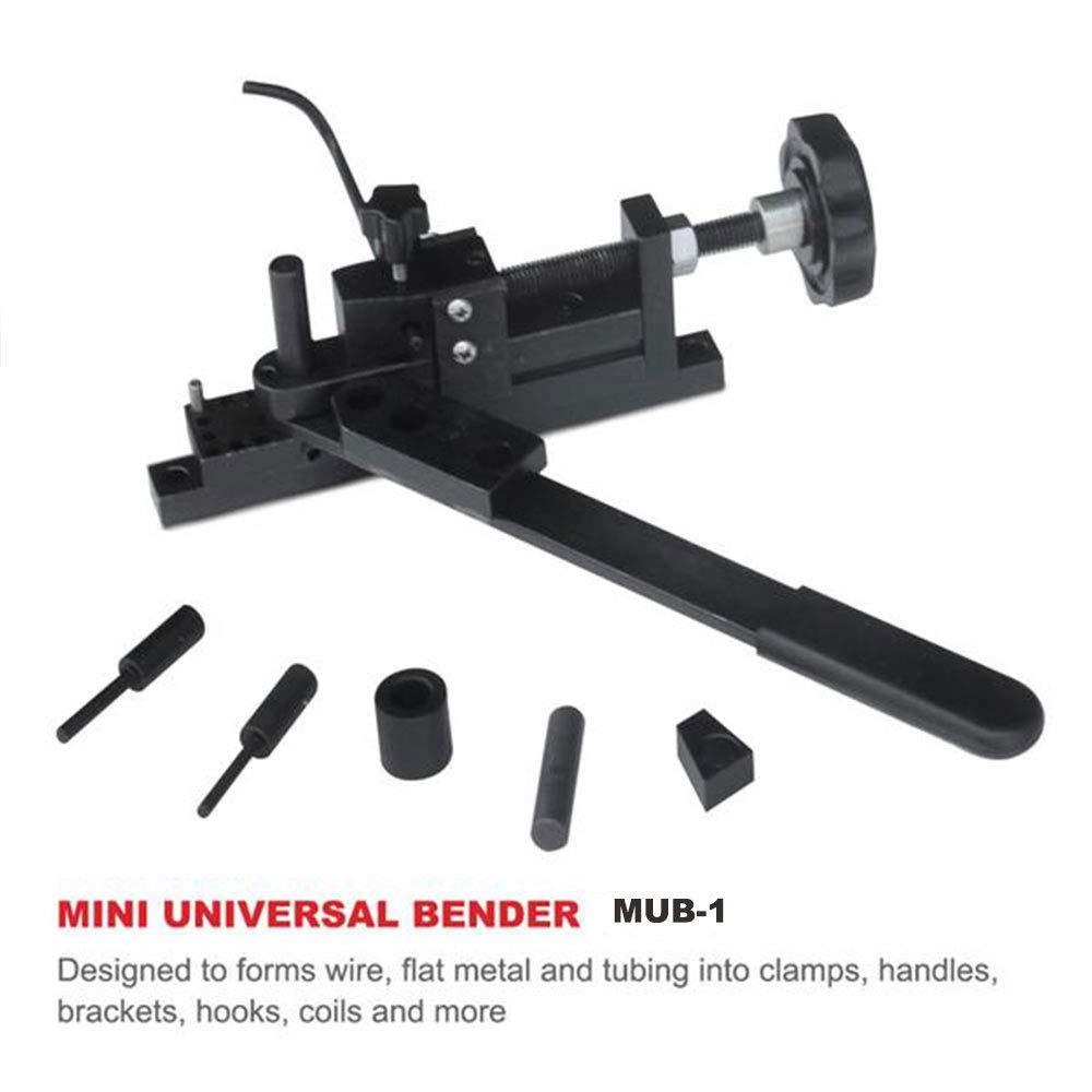 vidaXL Manually Operated Floor-Mounted Steel Pipe Bending Machine Tube Bender