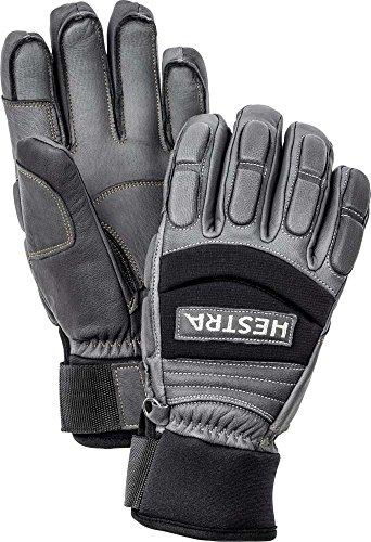 Hestra 30040 Men's Vertical Cut Freeride Glove, Grey - 5 by Hestra