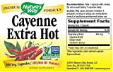 Nature's Way Cayenne Extra Hot, 100 Capsules (Pack of 2)