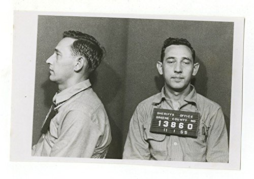 Early 20th Century Mug Shots - Sheriff's Office - Greene County, MO - 1955