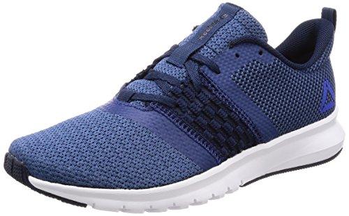 Running Gris de Bluecollegiate Navyacid Blanc Homme Lite Rush Washed Noir Bleu Foncã Reebok Bluewhite Print Chaussures xq8FFX