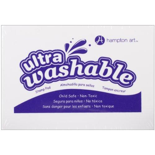(Hampton Art Purple Washable Ink Pad)