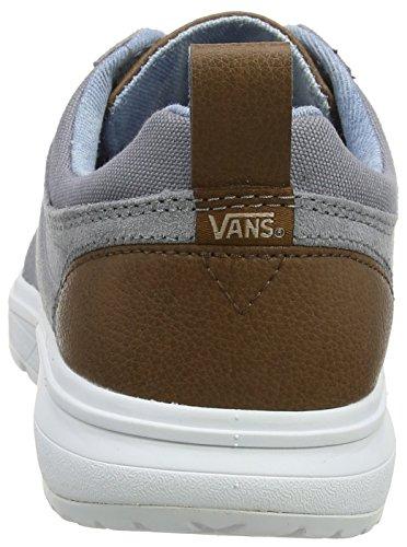 Vans Unisex Adults' Iso 3 Trainers Grey ((C/Yellow) Frost Gray/Acid Denim Q70) free shipping best TGqXPHdpGK