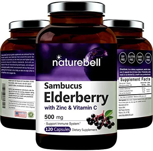 Sambucus Elderberry Capsules Immune Support