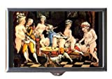 Antique Orgy Art Painting Sex Coin, Mint or Pill Box: Made in USA!