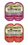 Nutro Wild Frontier Grain Free Pate Cat Food 2 Flavor 8 Can Variety Bundle, (4) Each: Turkey, Salmon (2.64 Ounces)