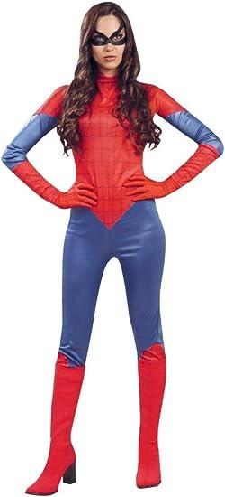 Fancy Me Mujer Sexy Araña Superhéroe Disfraz de Halloween 12-14 ...