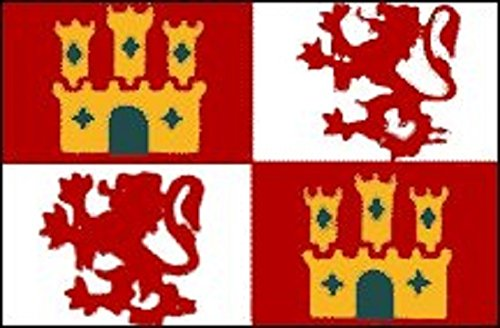 3x5 Spain with Lions and Castles Flag Spanish Banner Pennant Bandera -