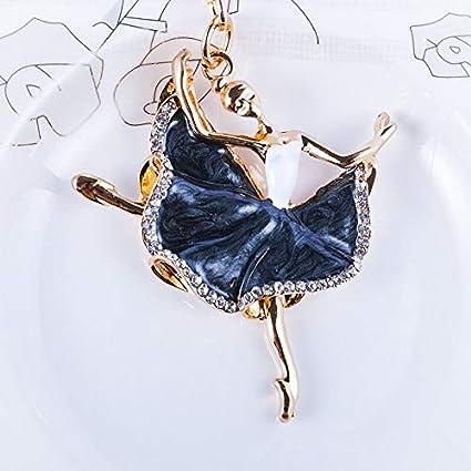 d79975ad60 Amazon.com: Best Quality - Key Chains - Fashion Ballerina Crystal ...