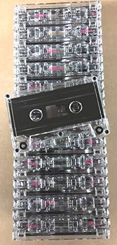 (25pk - NRS HIGH ENERGY C-77 Minute Blank Bulk Normal Bias Cassettes)