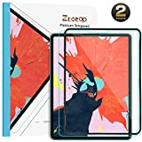 Ztotop Screen Protector for iPad Pro 12.9 inch 2018(3rd Gen) - [2 Pack] High Definition Scratch Resistant iPad Pencil Compatible 9H Tempered Glass Screen Protector for iPad Pro 12.9 Inch 2018 Release
