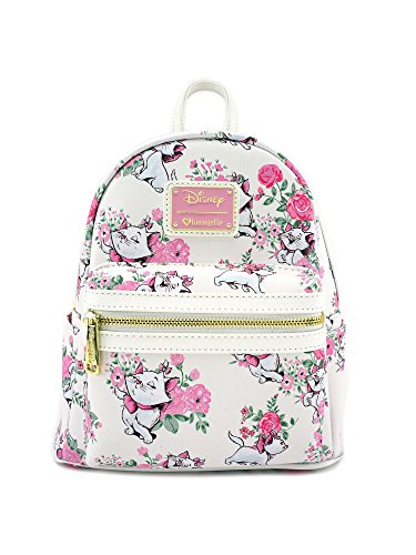 Loungefly Disney The Aristocats Marie Floral Allover-Print Mini Backpack WDBK0335 from Loungefly
